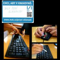 Chci, aby byly čisté klávesnice