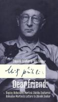 Obálka edice dopisů B. Martinů Z. Zouharovi