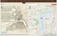 Umisťování bodů na starou a současnou mapu