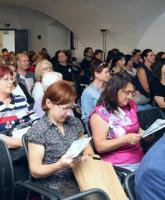 Z auditoria 42. semináře knihovníků muzeí a galerií v Prácheňském muzeu v Písku v roce 2018