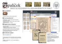 Úvodní stránka projektu ŠPALÍČEK, Knihovna Národního muzea