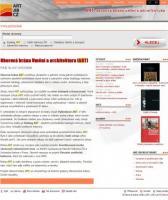 Úvodní stránka ART Oborová brána Umění a architektura