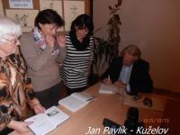Jan Pavlík v Kuželově, foto: MěK Hodonín