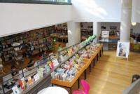 Pobočka Městské knihovny Berlin-Mitte v Luisenbad – interiér Foto: Miroslav Bünter