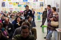 Při zahájení kampaně se v pražském DOXu sešlo osmdesát zástupců neziskových organizací Foto: Vojtěch Hurych