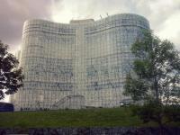 Univerzitní knihovna Braniborské technické univerzity v Chotěbuzi Foto: Barbora Buchtová
