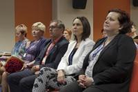 Hosté (zleva) PhDr. Marie Šedá, PhDr. Libuše Foberová, PhD., Mgr. Andrzej Bizoń, Ing. Martina Šrámková, MPA, Ing. Gabriela Monczková, Foto: Marek Běhan