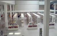 Městská a zemská knihovna v Postupimi – interiér Foto: Barbora Buchtová