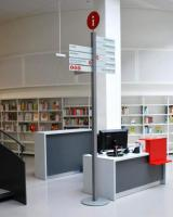 Rozcestník - Městská a zemská knihovna v Postupimi Foto: Marie Šedá