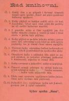 Řád spolkové knihovny Čtenářsko-pěveckého spolku Haná