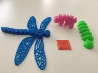 Příklady modelů vytištěných na 3D tiskárně