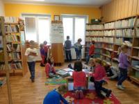 Obecní knihovna Moravská Nová Ves: Veřejné čtení , 5.10.2016