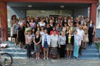 Účastníci 36. semináře knihovníků muzeí a galerií AMG ČR v Uherském Hradišti v roce 2012