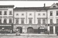 Dům čp. 47 na Masarykově nám. ve Vyškově - sídlo Knihovny města Vyškova v letech 1922 - 1932 - ve dvorním traktu