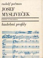 Publikace o Josefu Myslivečkovi