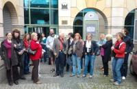 Muzejní knihovníci při odborné exkurzi v knihovnách v Polském Těšíně