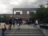 Svobodná univerzita v Berlíně Foto: Marie Šedá