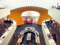 Filologická knihovna při Svobodné univerzitě v Berlíně Foto: Barbora Buchtová