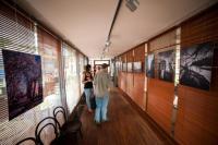 Interiér kavárny Avion