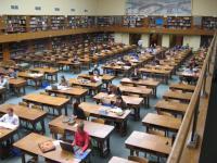 Biblioteka Jagiellonska - velká studovna