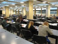 Biblioteka Narodowa - interiér studovny