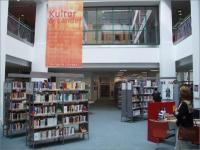 Chemnitz - provozní prostory knihovny