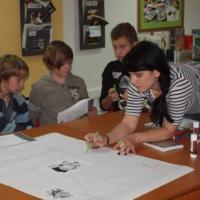 Čtenářská dílna na téma  Jan Hus a tvorba myšlenkové mapy pro studenty sekundy