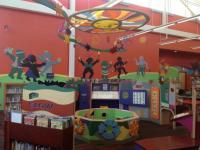 Cuyahoga County Public Library - interaktivní prvky sloužící k osvojování si jazyka hrou