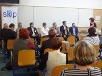 Řečníci panelové diskuze