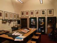 Expozice umělecké knižní vazby – knihařská dílna