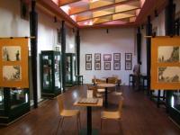 Expozice tvoří součást knihovny