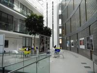 Interiér Knihovny Univerzity Tomáše Bati ve Zlíně