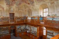 Historický sál benediktinské knihovny