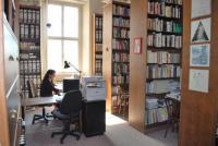 Knihovna v roce 2015, foto: archiv, na fotogr.: M. Kvapilová