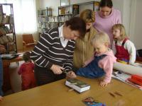 Děti s maminkami z Klubíčka při DDM Ždánice