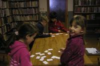 Děti ze 2. třídy při plnění úkolů,  foto: Alice Vašáková