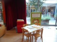 Dětský koutek knihovny v Celje