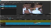 Uživatelské prostředí video editoru ShotCut