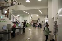 Eingangsfoyer Stadtbibliothek LSB