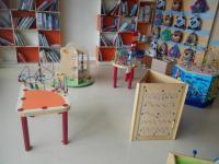 Herní prvky v knihovně Domžale