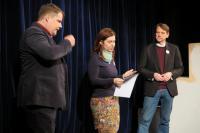 Slavnostní vyhlášení vítězů JMčte v Divadle Polárka