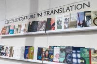 Český stánek na Frankfurtském knižním veletrhu
