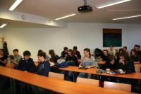 Exkurze studentů v Moravské zemské knihovně