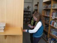 Knihovna Gymnázia Matyáše Lercha