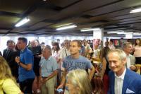 Účastníci slavnostního otevření Španělské knihovny