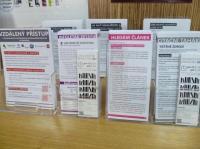 Informační letáky knihovny