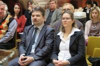 Ing. Jiří Němec, radní za oblast kultury Jihomoravského kraje a Mgr. Metra Kovářová, vedoucí oddělení kultury