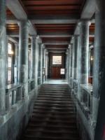 Interiéry Národní a univerzitní knihovny v Lublani