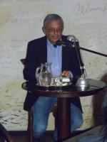 Literární host kavárny Avion Jindřich Mann.