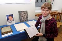 Slavnostního aktu se kromě podolských občanů zúčastnila i praneteř Květy Legátové Markéta Šplíchalová.